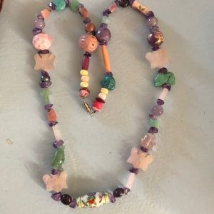 Jewelry - Pastel multi beaded necklace